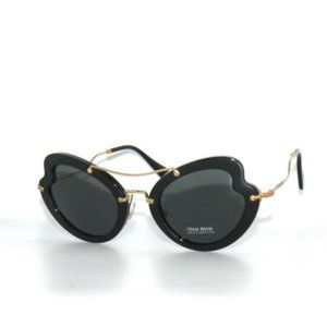 Miu Miu Black Butterfly Sunglasses